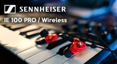 Sennheiser IE 100 PRO / Wireless in-ear headphones