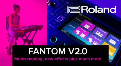 Roland Fantom Firmware update 2.0