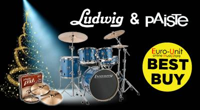 Ludwig & Paiste in Christmas BEST BUY story