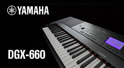 Play, sing, learn and have fun with the Yamaha DGX-660
