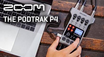 ZOOM PodTrak P4 - King of the Podcast