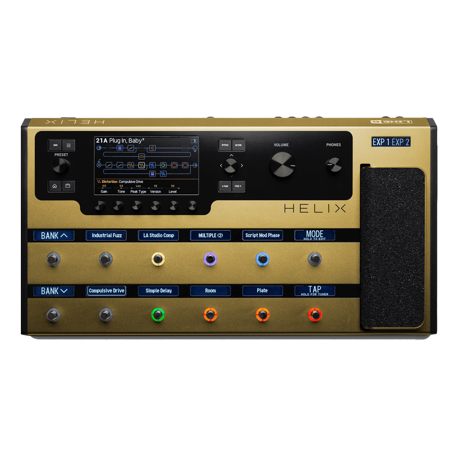 Line6 HELIX Gold Limited Edition