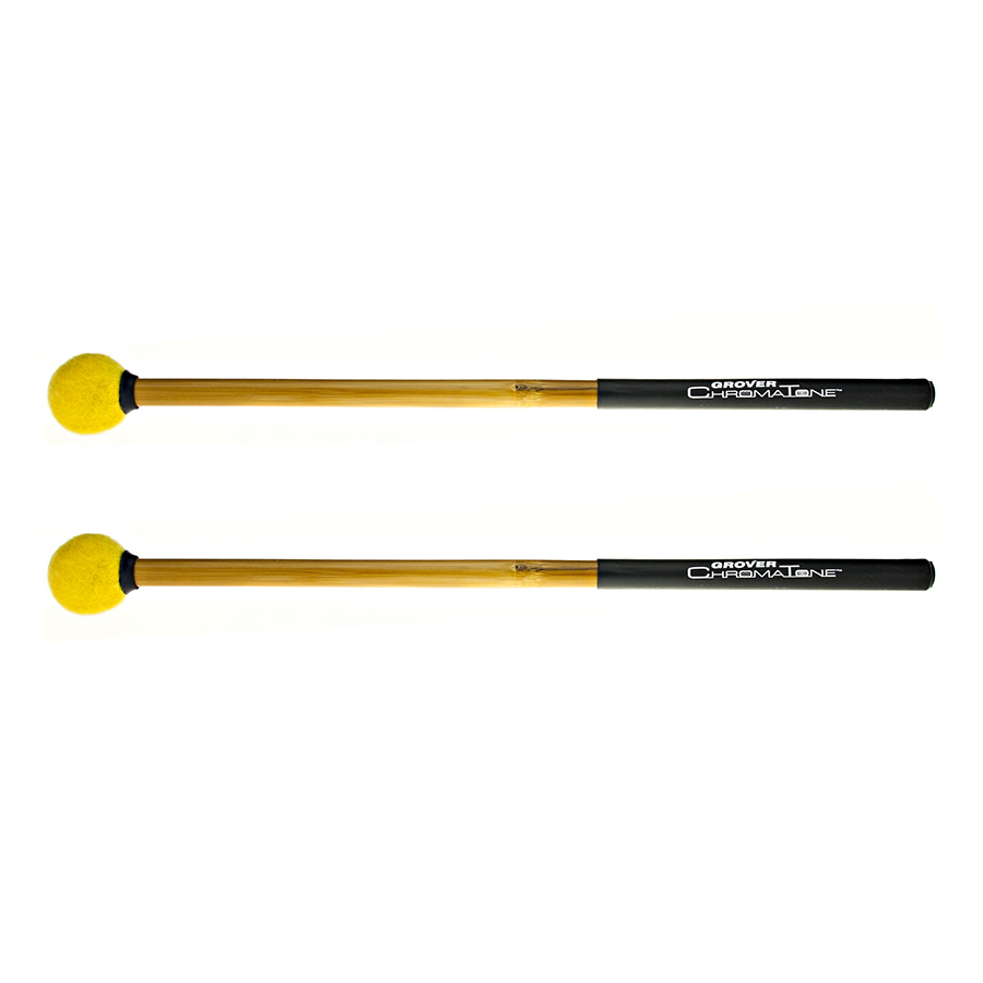 Grover Pro Percussion TMB-C14 ChromaTone Timpani Mallets Yellow