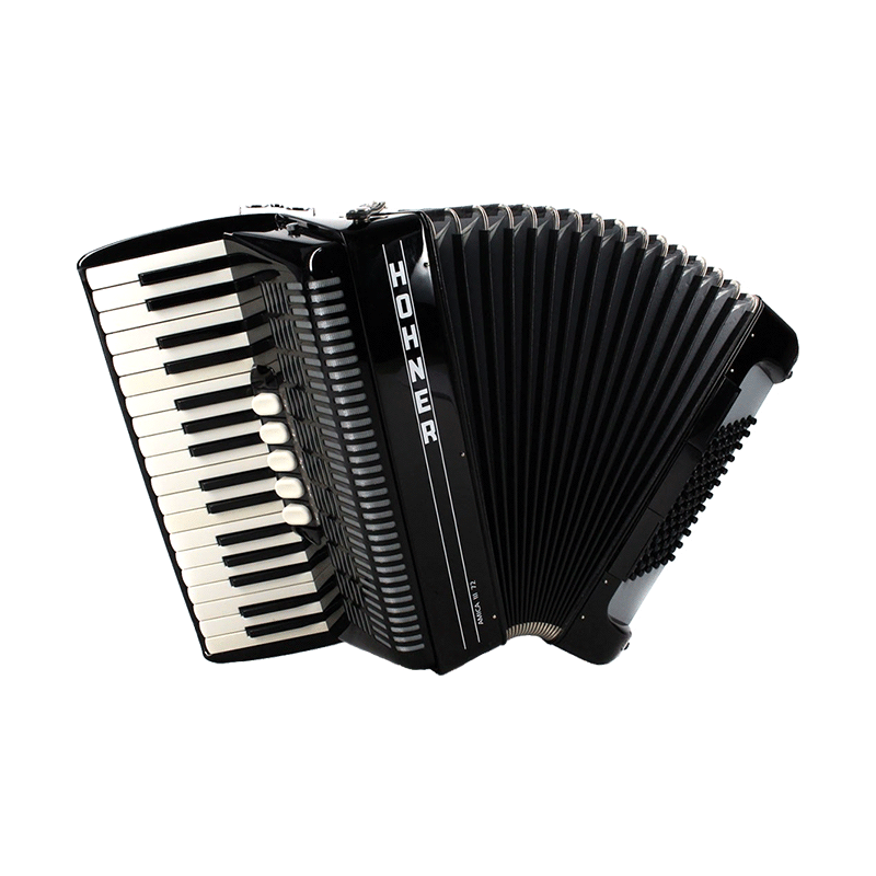 Hohner Amica III 72 Black Facelift