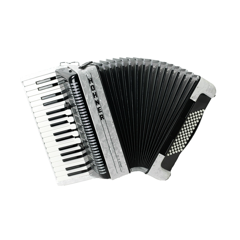 Hohner Amica III 72 White Facelift