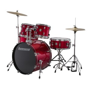 11220047_Ludwig LC17514 Accent Drive 5-Piece Drums Set