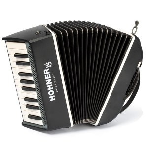 Hohner XS Accordion Piano grey69