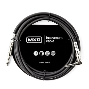 MXR DCIS10R Standard Straight to Right Angle Instrument Cable